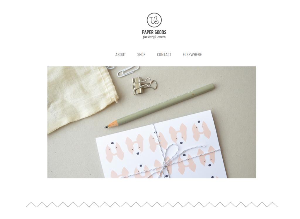 Tiffbits Shop | Paper Goods for Corgi Lovers